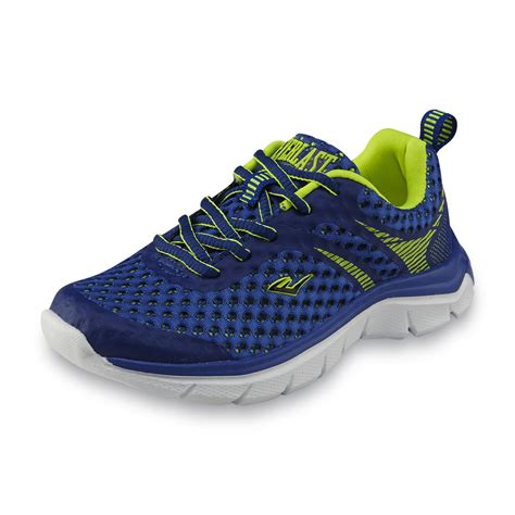 neon athletic shoes everlast 174 boy s sling blue neon green athletic shoe