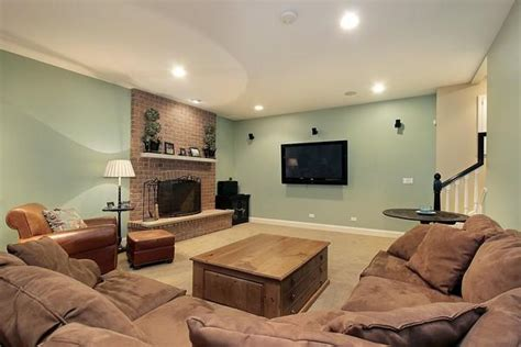marvelous basement living 5 basement family room paint color ideas smalltowndjs