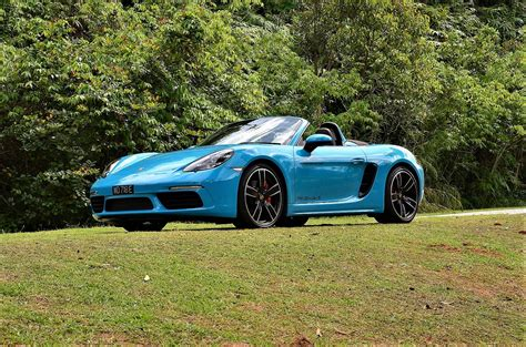 Porsche S Boxster by Porsche 718 Boxster S Road Test Autoworld My