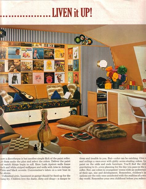 magazine room decor 16 mod interior designs from 1968 retro renovation