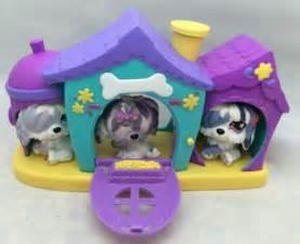 littlest pet shop house lps littlest pet shop sheepdog komondor hair mop