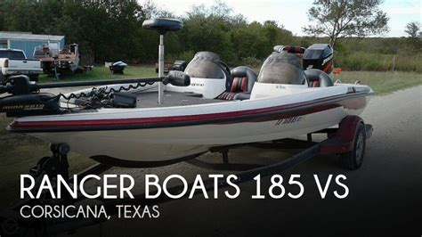 used ranger bass boats for sale in texas for sale used 2003 ranger boats 185 vs in corsicana texas