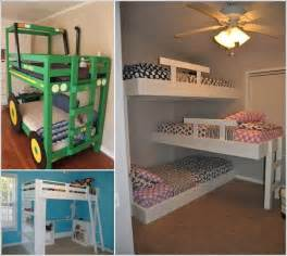 cool bunk bed plans 10 cool diy bunk bed designs for