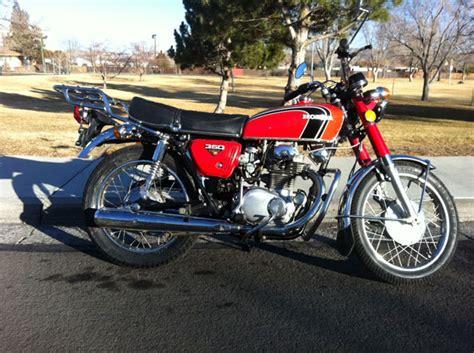 1973 honda cb350 scrambler