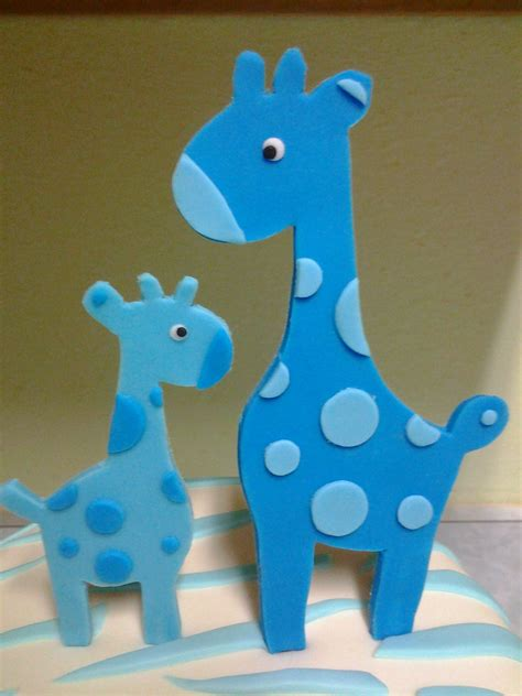 Baby Giraffe Baby Shower by Giraffe Baby Shower Cake Cakecentral
