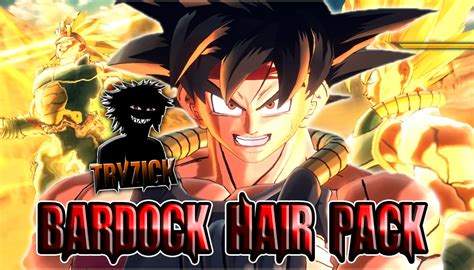 hairstyles xenoverse mod bardock cac hair pack xenoverse mods