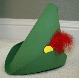 How To Make A Robin Hat Out Of Paper - craft addict
