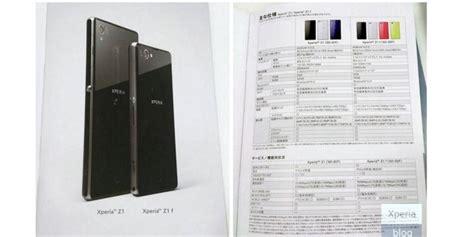 Spesifikasi Sony Lavender Terungkap spesifikasi xperia z1 mini terungkap kompas