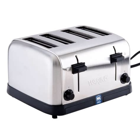 Waring Toaster Review waring wct708 4 slice commercial toaster 120v