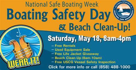 national boating safety kick off the summer boating season at boating safety day