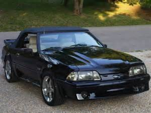 1988 Ford Mustang 5 0 1988 5 0 Mustang Convertible Ford Mustang Photo Gallery