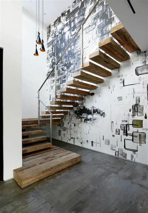kerzenständer wand metall ausgefallene treppengel 228 nder designs f 252 r die innentreppe
