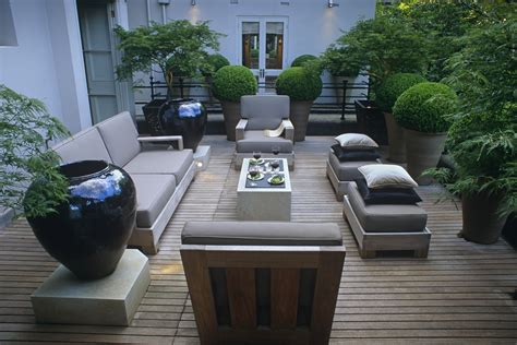 terrassengestaltung modern stilvolle terrassengestaltung living garden