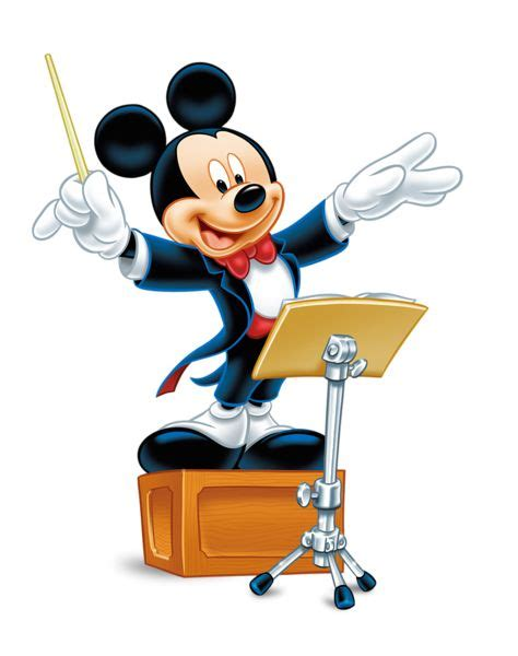 cartoon themes orchestra mickey mouse png clipart clipart pinterest