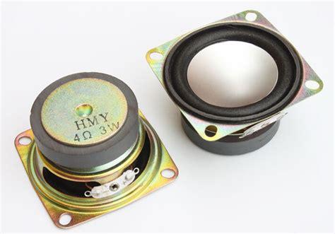 Speaker V8 Mini Me toptan al箟m yap箟n 4ohm hoparl 246 rler 199 in den 4ohm