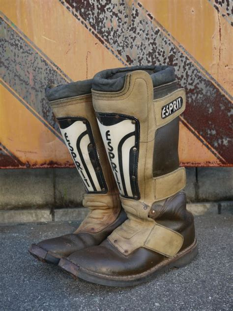 brown motocross boots esprit vintage motocross boots brown 215 black 91 2