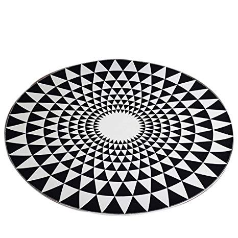 10 X 12 Black And White Geometric Rug by Lilishangpu Carpet Rug Carpets And Blankets
