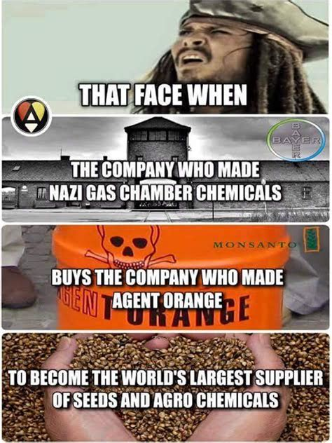 Monsanto Meme - memes are not reliable sources of information attn