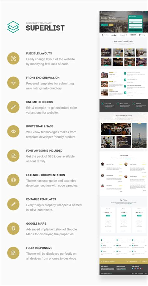 building directory template superlist directory template by aviators themeforest