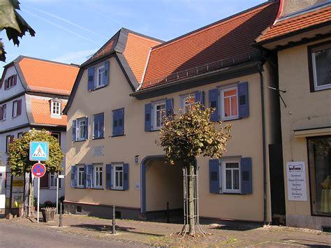 File Friedrichsdorf Ts Philipp Reis Haus 2 Jpg Wikimedia