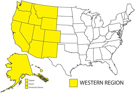 map of the west usa map of usa west region blank map west region united states