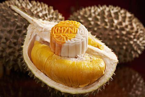 Moon Cake Durian Telur 1 cheese infused mooncakes chynna kuala lumpur malaysian flavours