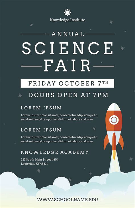 Fair Flyer Template science fair flyer template psd docx the flyer press