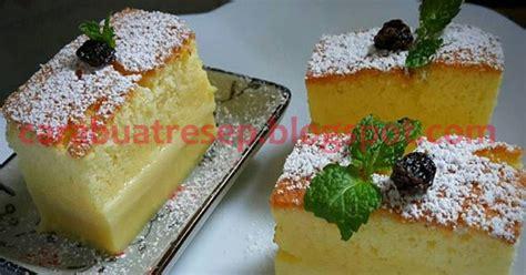 membuat kue dengan magic com cara membuat magic custard cake resep masakan indonesia