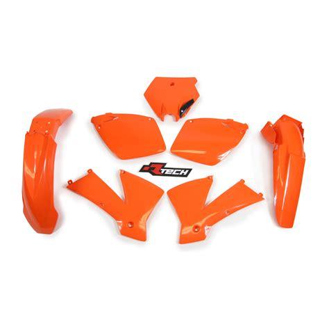 Ktm 125 Sx Plastics Ktm125 Sx 2001 2003 Racetech Orange Plastics Kit Ktm 125