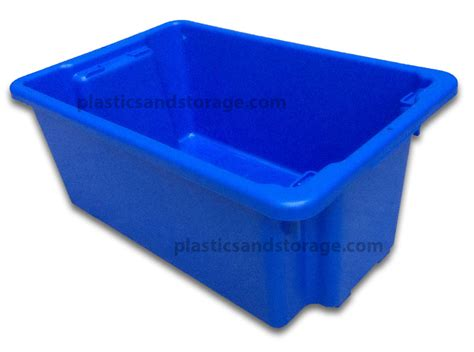 Plastic Bathtub Solid Stack And Nest Plastic Tubs