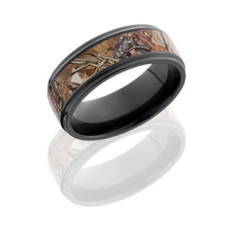 lashbrook rings zirconium field camo wedding band