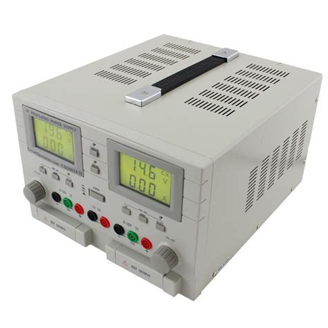 test bench power supply 0 30v 0 3a triple output dc bench power supply