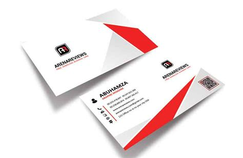 professional name card template business card template