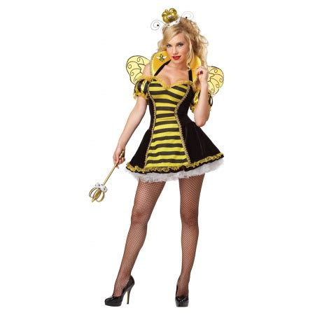 royal honey queen bee costume