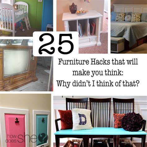 diy furniture hacks 25 furniture hacks that will make you think why didn t i