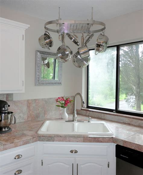 kitchen corner sink ideas corner kitchen sink design ideas