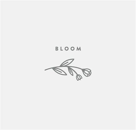 flower logo design inspiration graphic design