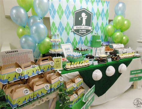 Golf Themed Baby Shower by Golf Baby Shower Quot Jake S Masters Tournament