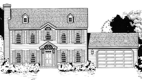 colonial floor plans two story 2 story colonial house plans quotes