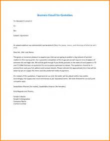 business exles 6 business emails exles bid template