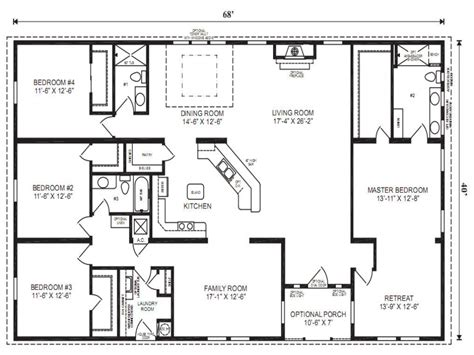 small double wide floor plans double wide mobile homes mobile modular home floor plans