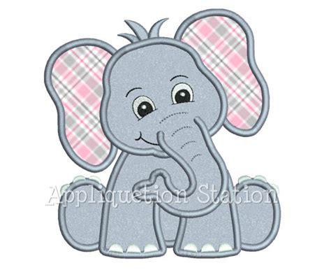 machine patterns free safari baby elephant applique machine by