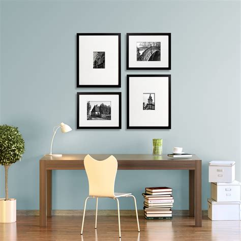 gallery wall home office ideas gallery wall ideas modern home office chicago by