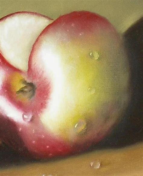 watercolor tutorial apple apple paintings a realistic oil painting of an apple