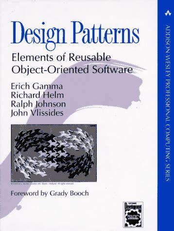 design patterns gamma helm objektorienteret programmering