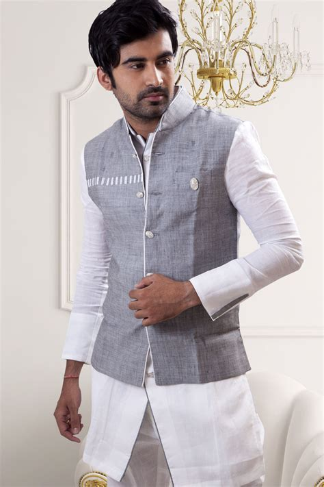 Buy Runako Mens Wedding Kurta Pyjama   BL4042 (White) with