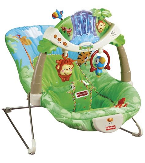 bouncy seat swing combo fisher price rain forest bouncer