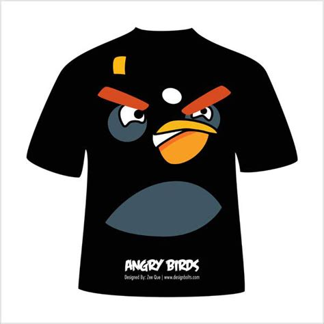 design t shirt vector free free vector angry birds t shirt designs on behance