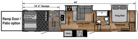 5th wheel hauler floor plans hauler 5th wheels
