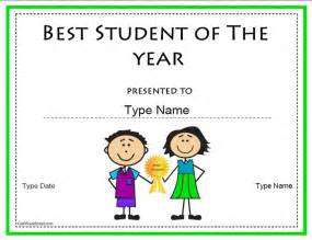 student of the year award certificate templates 74 best images about education certificates awards on